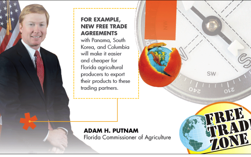 Commissioner's AgriCorner: Expanding markets for Florida agricultural products