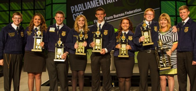 Kathleen Sr. and Lake Gibson Middle FFA chapters accomplish major feats