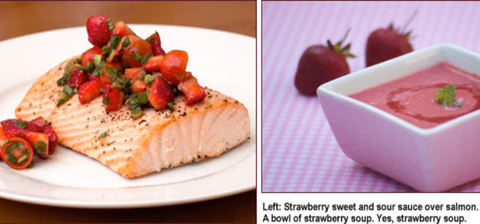 Recipe Spotlight: A Four-Course Meal for the Strawberry Fan