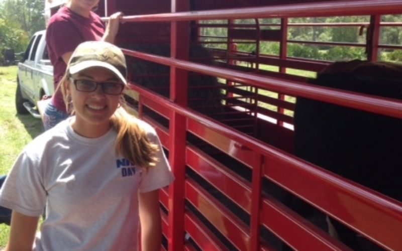 Two sisters learn the ropes of ag