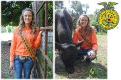 Ag Time with Abby: Spotlighting FFA member Miss Bailey Buchanon