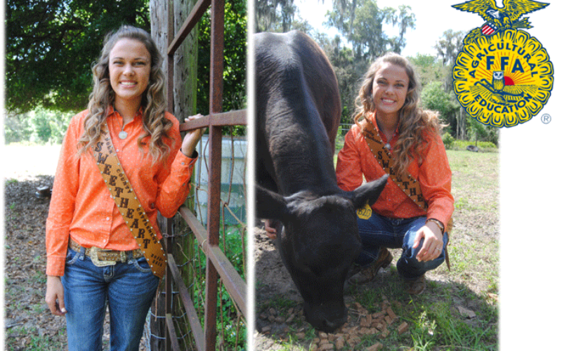 Ag Time with Abby: Spotlighting FFA member Miss Bailey Buchanon