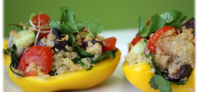 Recipe Spotlight: A good bell pepper deserves a great stuffing