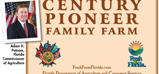 Commissioner's AgriCorner: Century Pioneer Family Farms