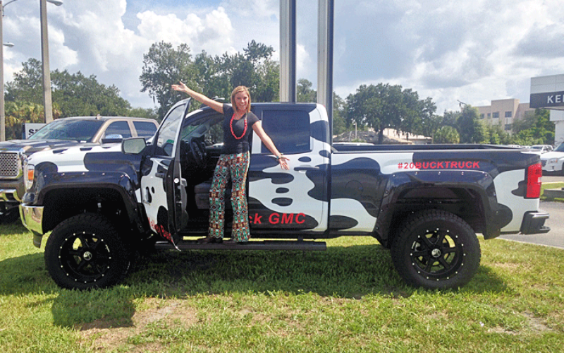 Ag Time with Abby: The #20BuckTruck fundraiser for the Polk County Youth Fair